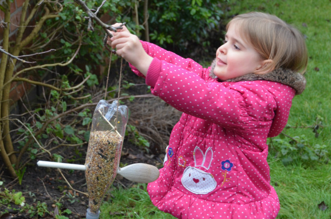 Family fun with the RSPB Big Garden Birdwatch