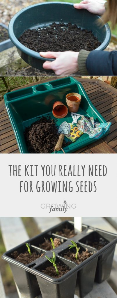 Growing plants from seed? Increase your chances of success by having the right basic kit before you start. Here are my top tips for your seed growing kit.