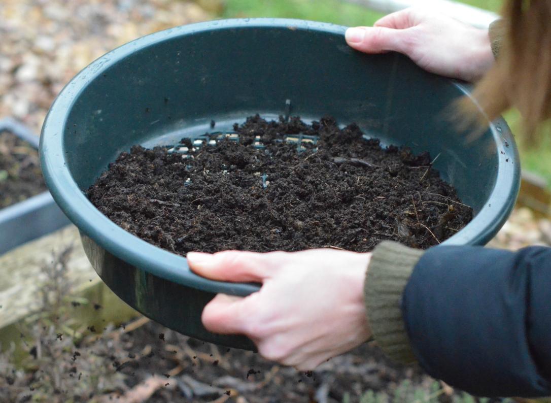 soil sieve