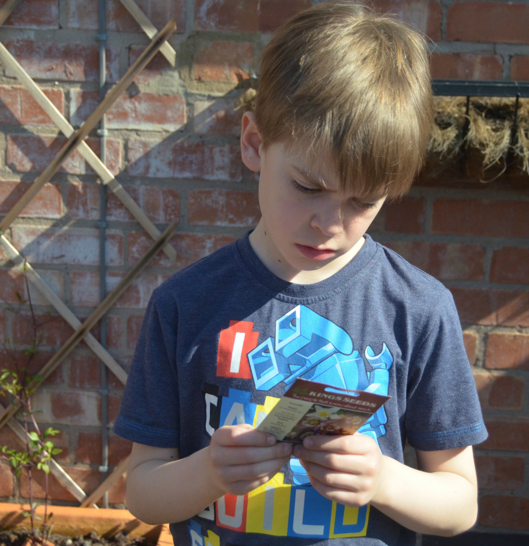 Kids seed sowing