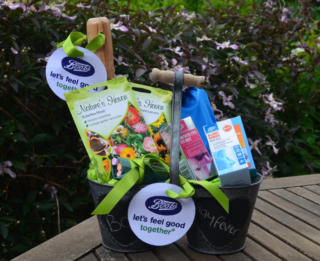 Boots hayfever kit