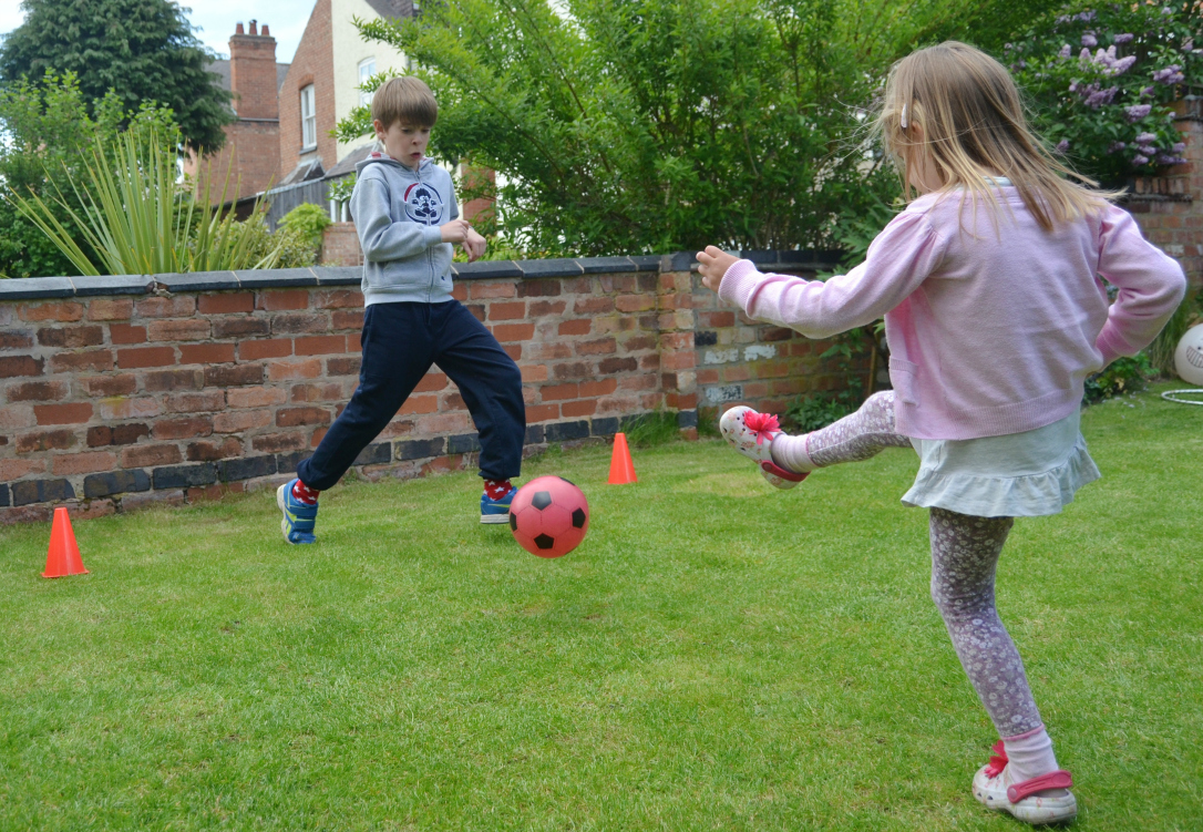 Family garden games ideas giveaway with poundstretcher growing garden games penalty shoot out workwithnaturefo