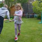 garden games relay race
