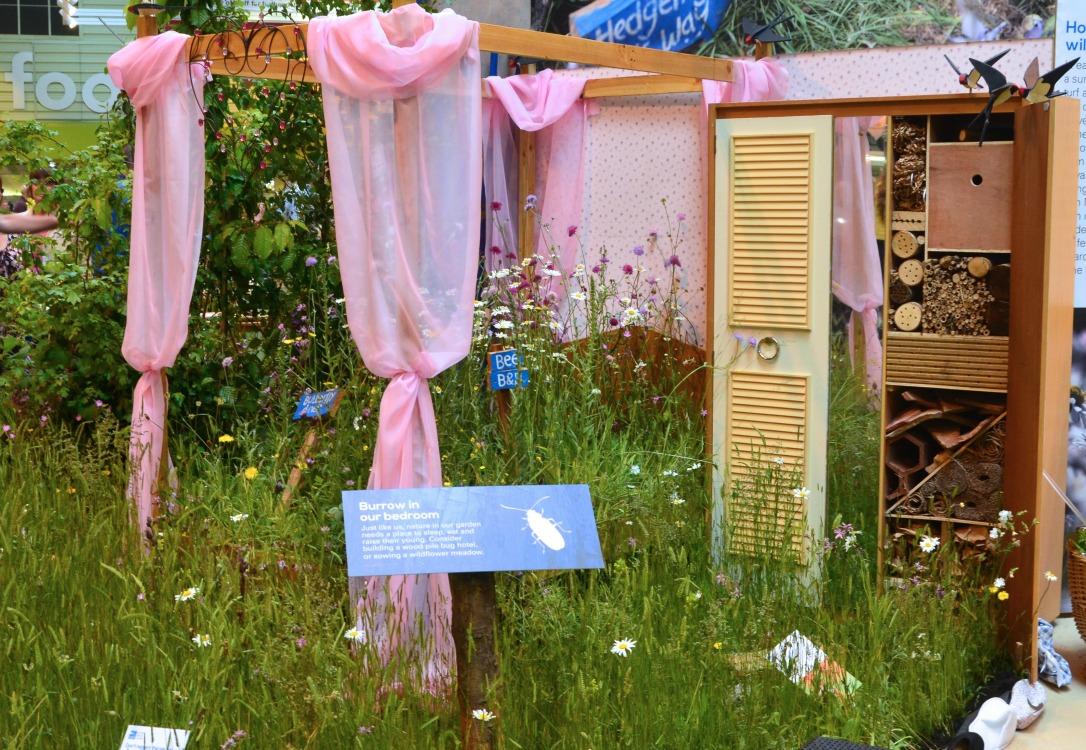 Gardeners World Live RSPB stand
