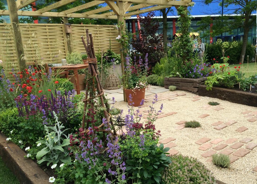 Gardeners World Live love the plot you've got garden