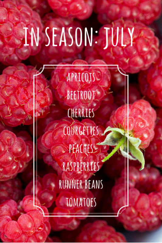 In season July