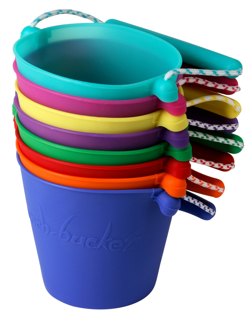 Scrunch bucket review outdoor play ideas growing family for Small pail buckets