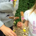 journey stick outdoor activity children