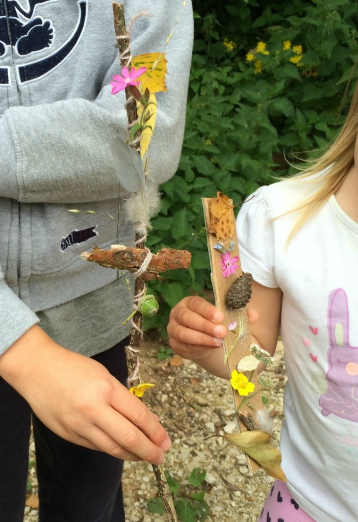 journey sticks nature craft