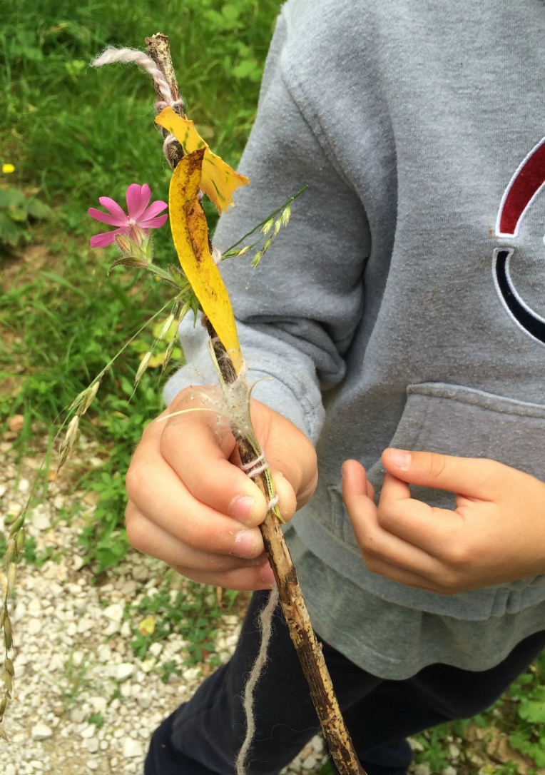 Nature Craft: making a journey stick - Growing Family