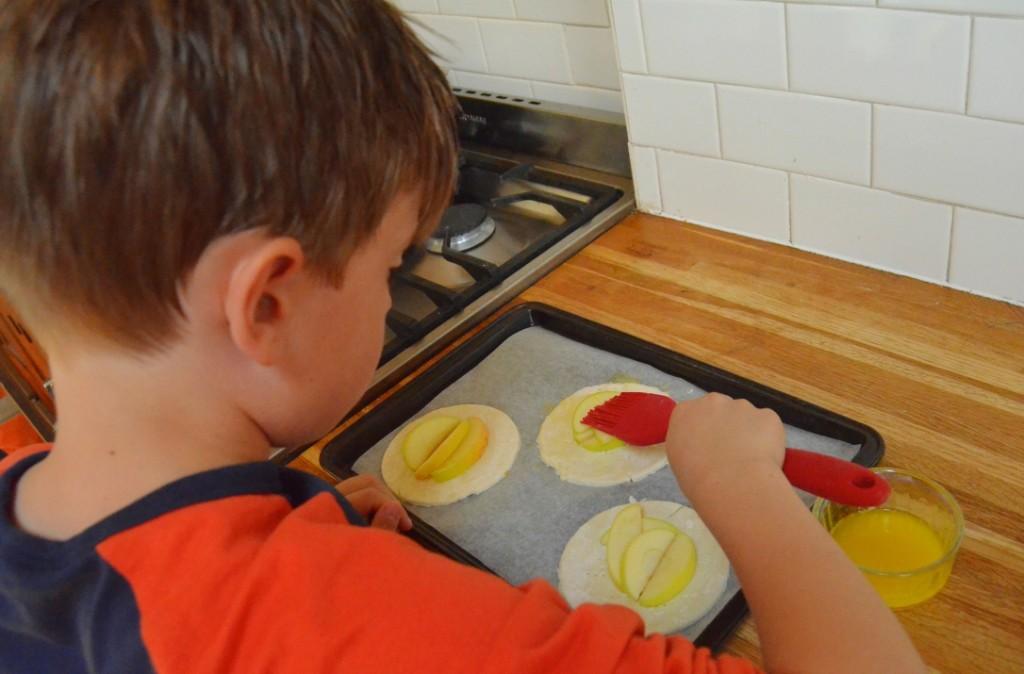 baking homegrown apples