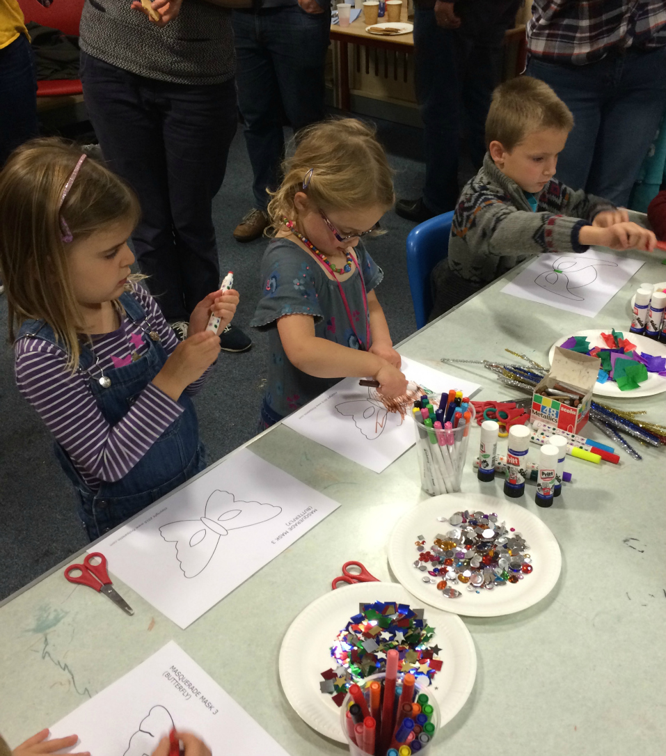 nottingham family arts library craft