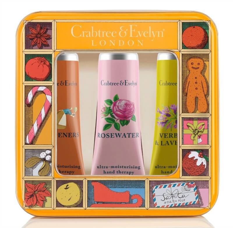 christmas gifts guide crabtree and evelyn gardeners hand care trio tin
