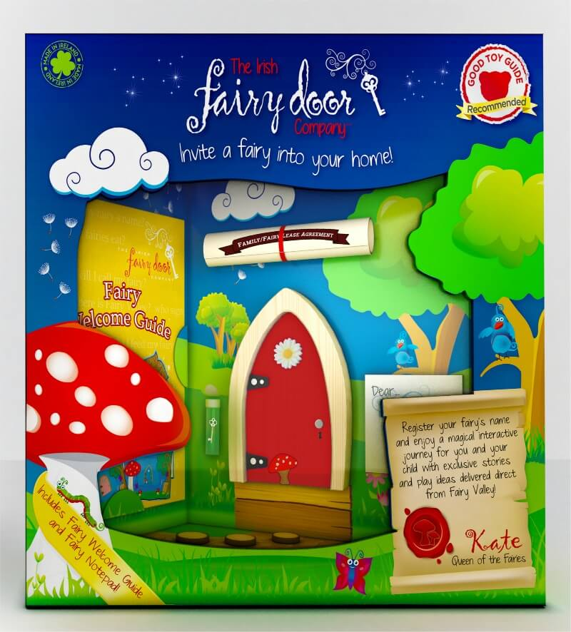 Gift guide christmas gifts for children growing family for The irish fairy door company facebook
