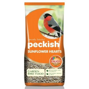 wild birds peckish sunflower hearts