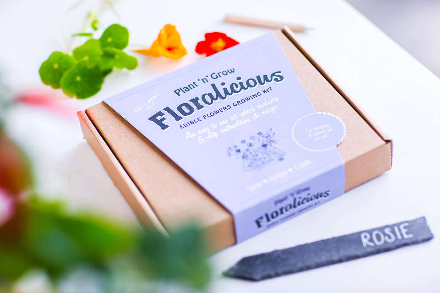 christmas gifts guide edible flower kit