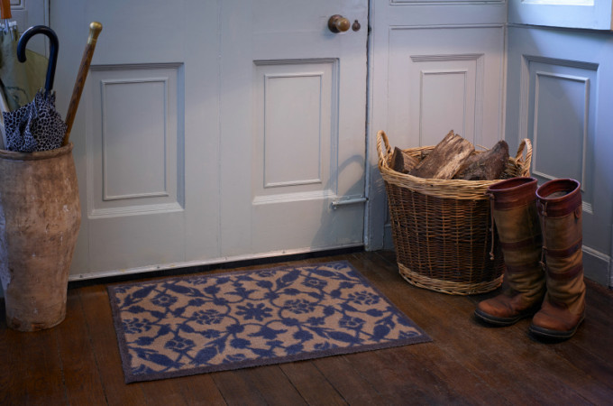 Leave dirt at the door with a Turtle Mat