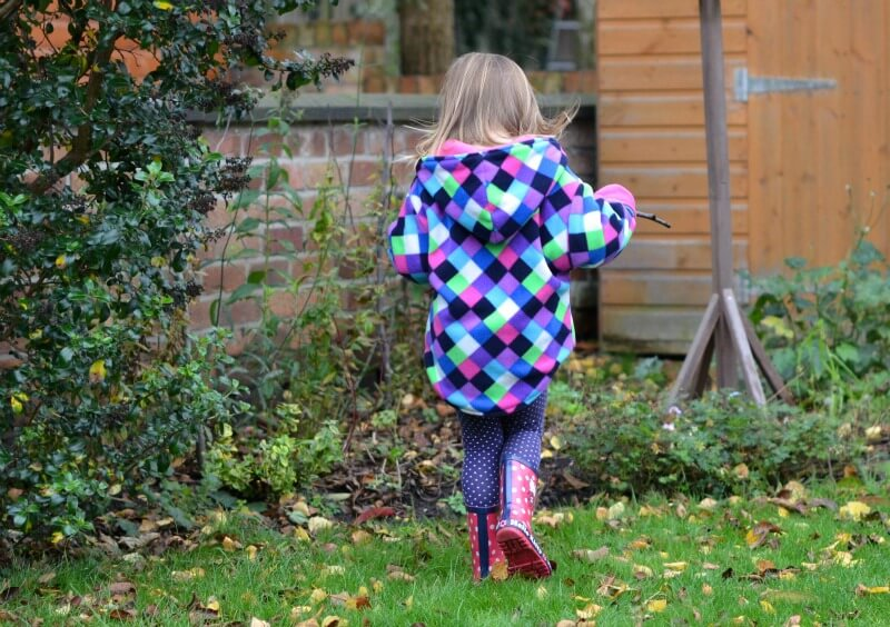 children's reversible fleece