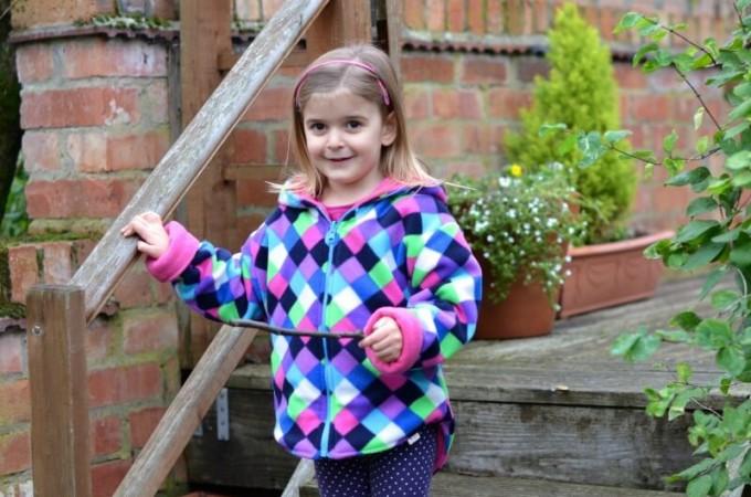 children's reversible fleece