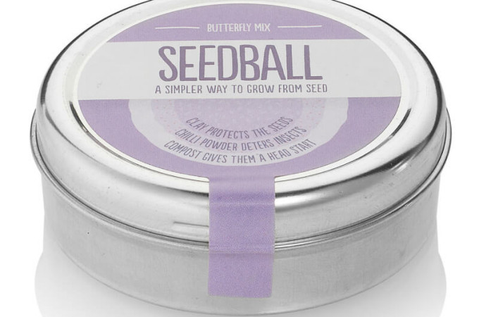 Giveaway: Seedball edible seed range