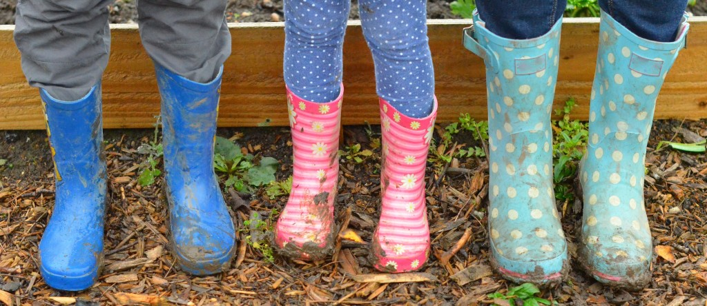 wellies about