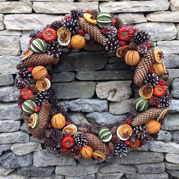 My Pick Of The Best Natural Christmas Wreaths Growing Family