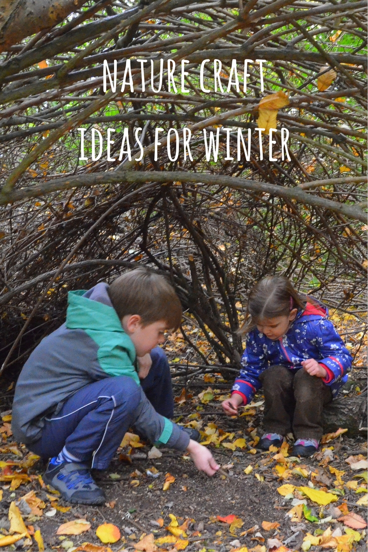 Winter Nature Crafts For Children Growing Family