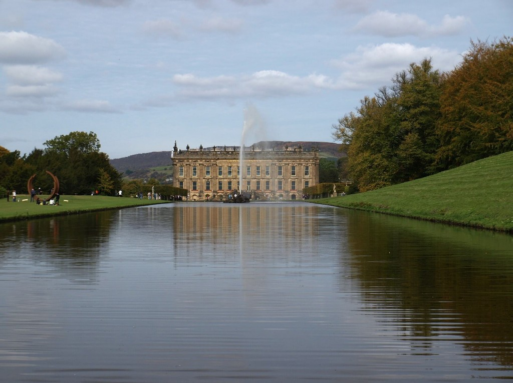 ideas for family days out - chatsworth house