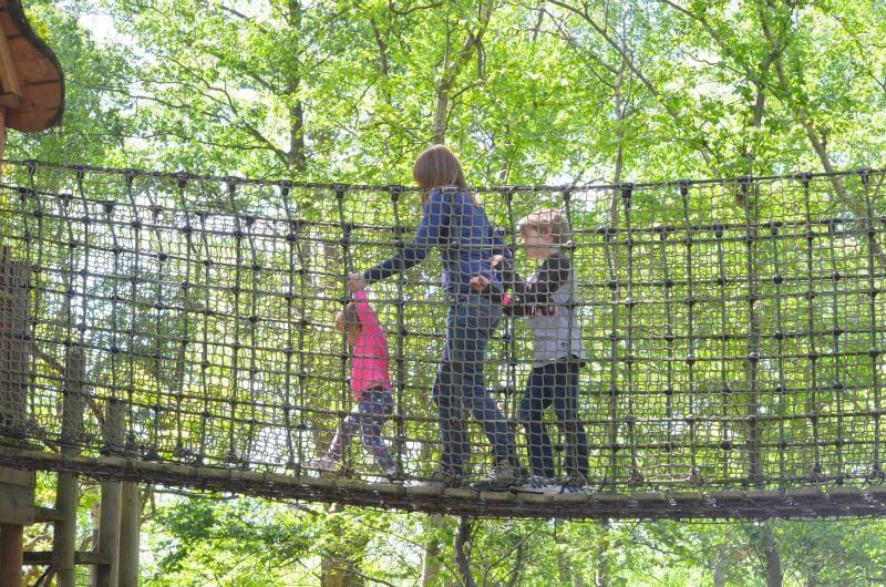 ideas for family days out - go ape