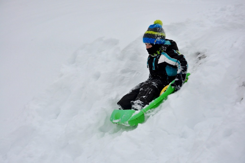 ideas for family days out - tam worth snowdome