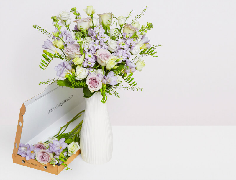 mother's day gift ideas bloom and wild freya letterbox bouquet flowers