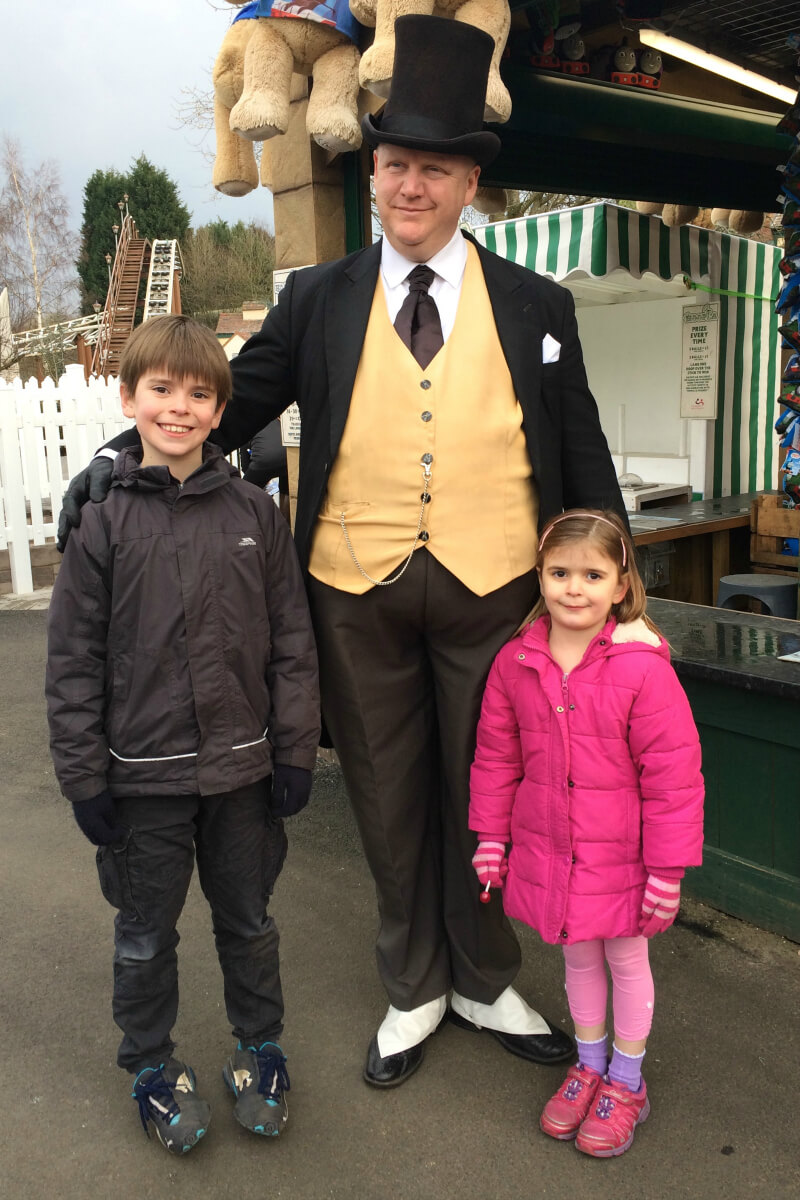 Review thomas land at drayton manor theme park growing for Growing families