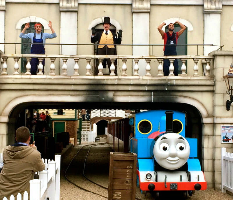 thomas land at drayton manor theme park