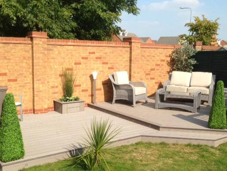 timber tech garden composite decking