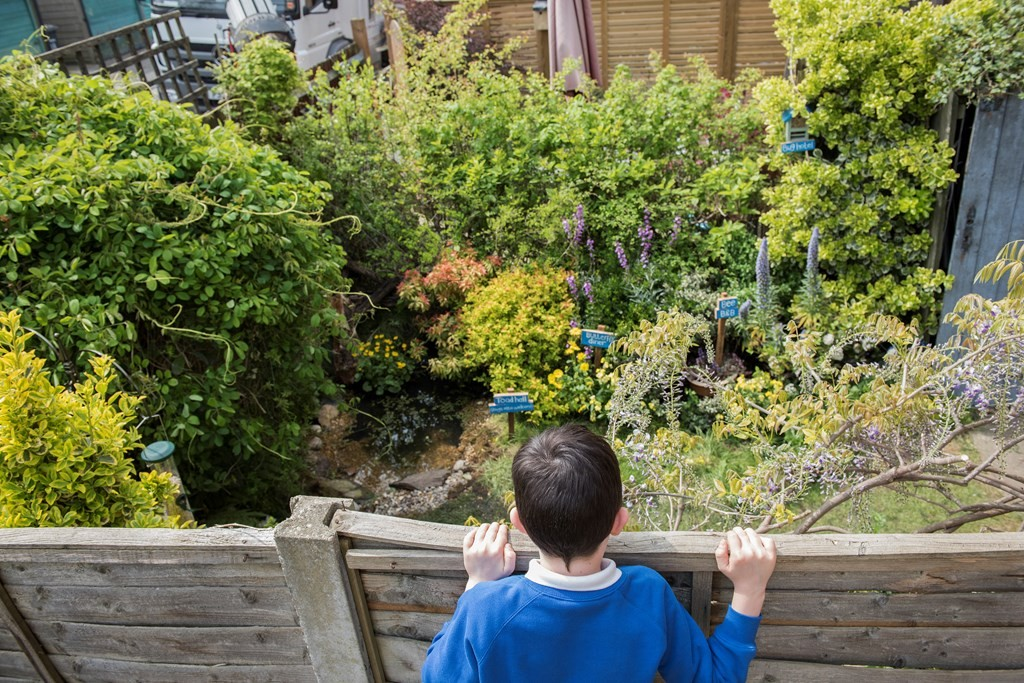 rspb giving nature a home in your garden campaign