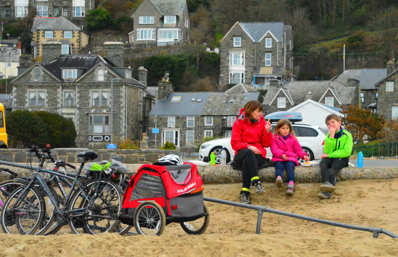 a family adventure in wales barmouth beach