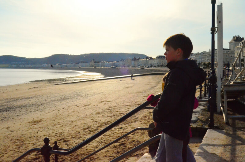 a family adventure in wales exploring llandudno beach