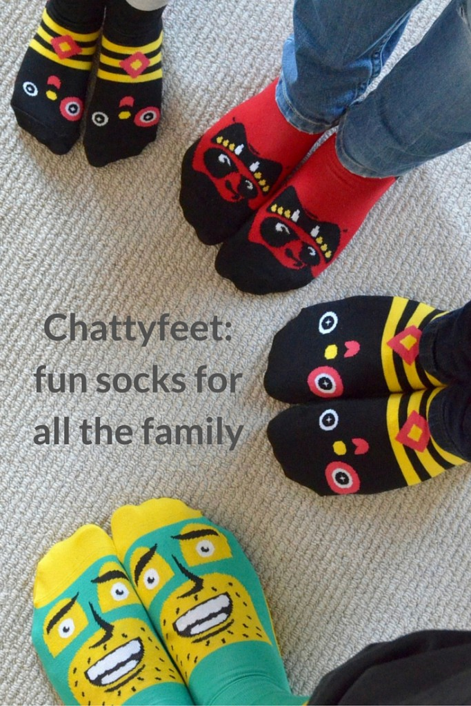 chattyfeet fun socks for all the family