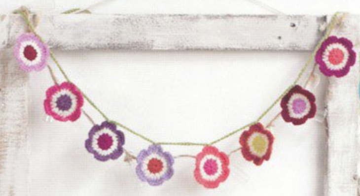 flower bunting would be perfect for a garden party