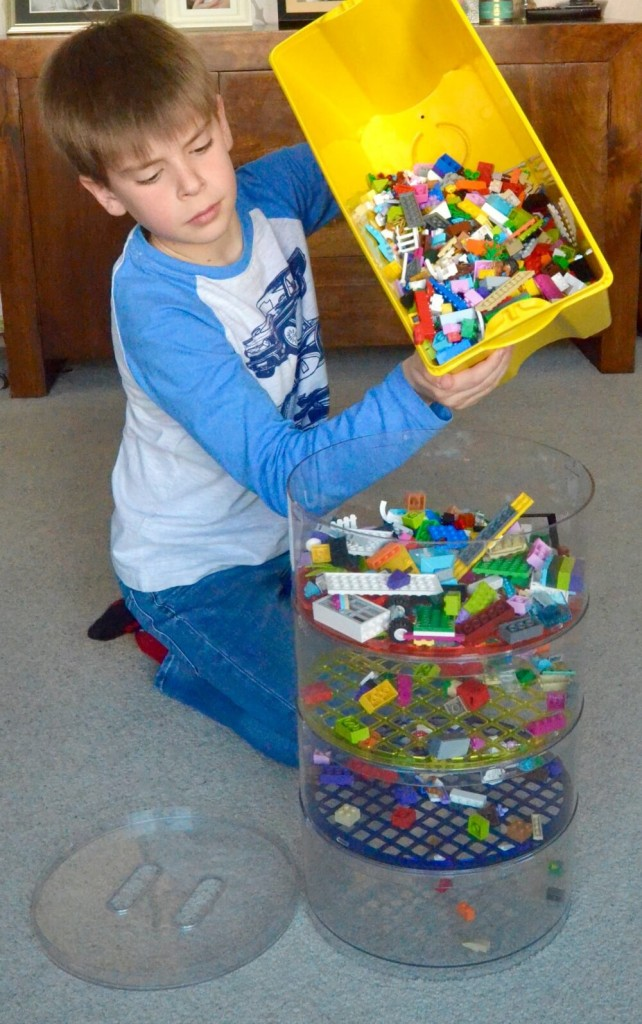 blokpod lego sorting and storage solution