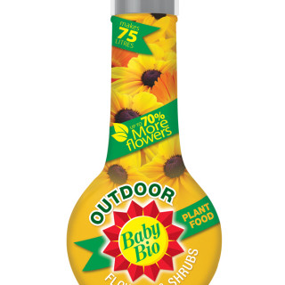 baby bio outdoors plant food for flowers and shrubs