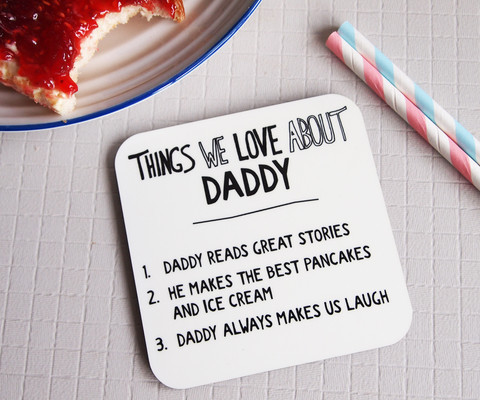Gift ideas to make Father's Day personal & Giveaway