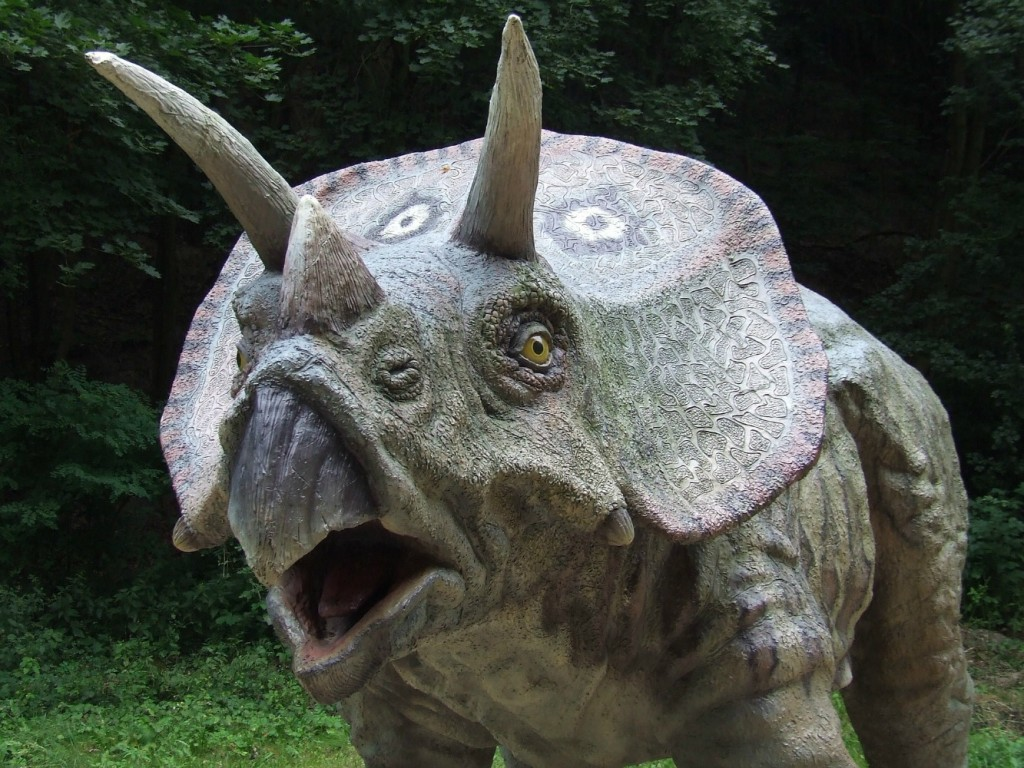 dinosaur park in norfolk is a great family day out