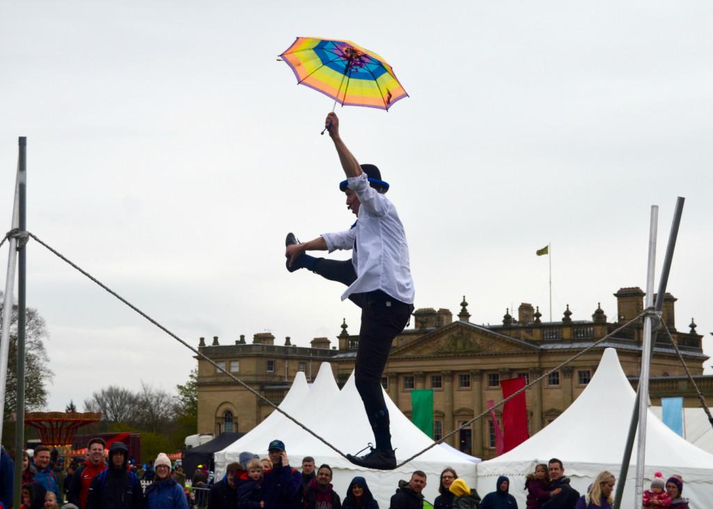 geronimo festival circus act
