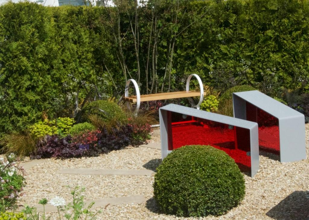 rhs malvern spring festival time is a healer show garden