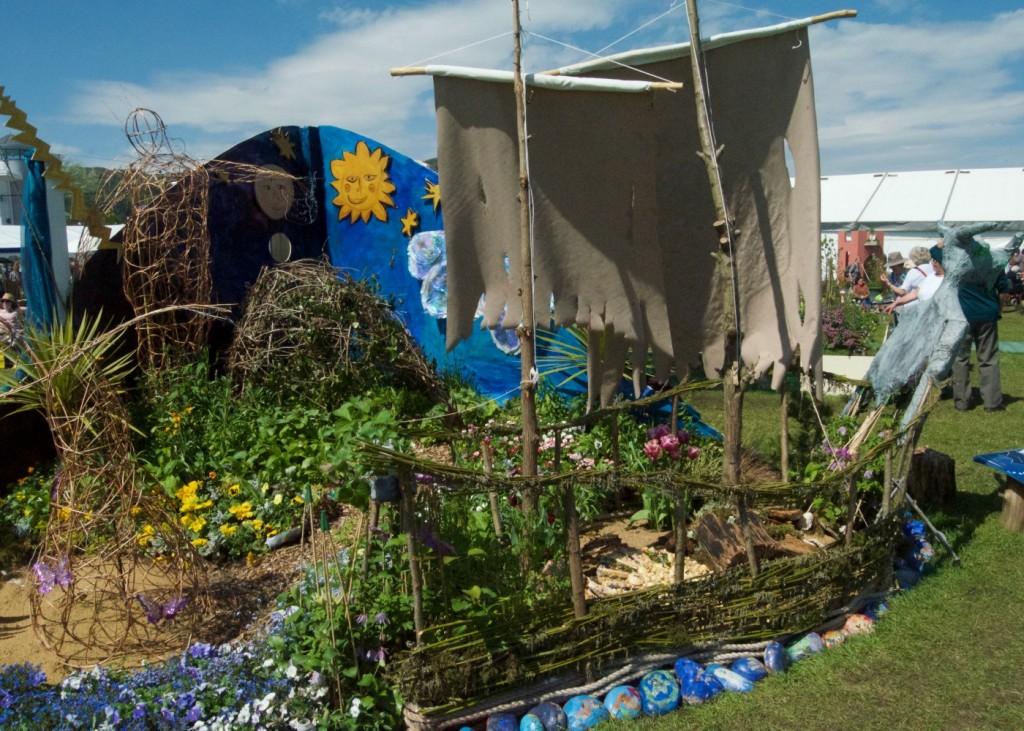 rhs malvern spring festival school garden