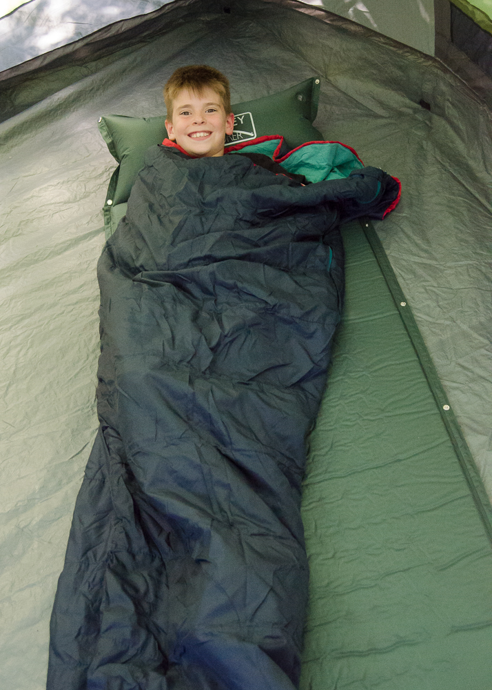 bentley explorer self inflating camping mattress with pillow