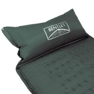 bentley explorer self inflating camping mat and pillow camping mattresses