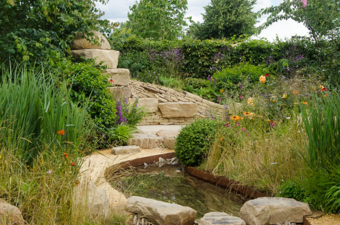 Zoflora's 'Outstanding Natural Beauty' Show Garden at Hampton Court Flower Show