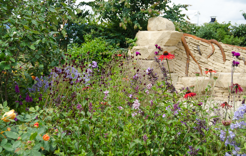 hampton court flower show 2016 zoflora outstanding natural beauty show garden